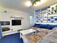 Obývací pokoj - chata ubytování Soběslav