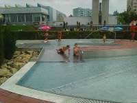 aqvapark s plaveckým bazénem nedaleko ubytování