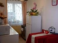 kuchyn k čtyřlůžkovýmu pokoji