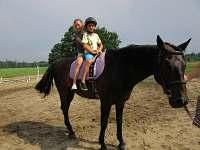 jízdy na koni pro děti