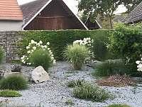 okrasná zahrada - pronájem chalupy Čejetice