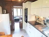 kuchyň - chata ubytování Zliv