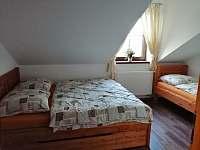 Ložnice - ubytování Sedlečko u Soběslavě