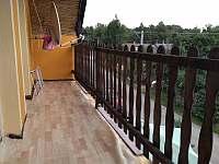 balkon u apartmánu - k pronájmu Albeř