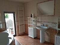 koupelna - apartmán k pronajmutí Albeř