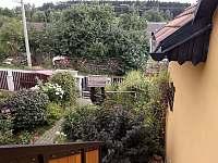 pohled z okna - apartmán k pronájmu Albeř