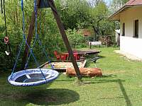 píškoviště a houpačka - chata ubytování Stráž nad Nežárkou