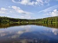 Jezero před chatou - Roudná