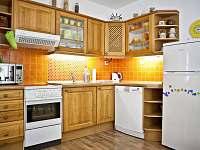 Kuchyně - chata ubytování Roudná