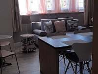APART.100   obývací kuchyně s gaučen na spaní pro 2 osoby - ubytování Jindřichův Hradec