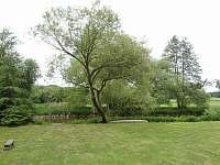 travnatý pozemek u - chata ubytování Vnorovice
