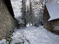 Zimní pohled do humen - Sumrakov