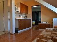 apartman 2 - kuchyň - rekreační dům ubytování Chrášťany
