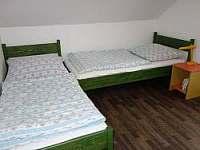 ložnice1 - chata k pronájmu Kunžak
