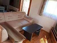 obývací pokoj - pronájem chaty Kunžak