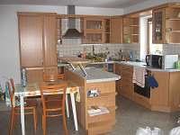 Chata Soukeník - nadstandartně vybavená kuchyně