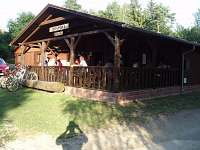 venkovní restaurace na Zvůli
