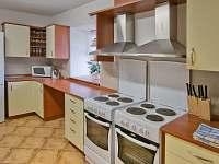 společná kuchyňka - ubytování Mirotice