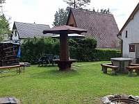 zadní pohled - chata k pronajmutí Horní Planá - Hůrka