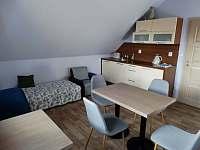 Kuchyňka v apartmá 2 - Sedlo u Číměře