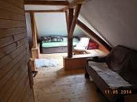 Ložnice 2 - chalupa k pronajmutí Staré Hobzí