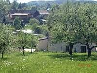 Pohled na dům ze zahrady - Kájov - Kladné