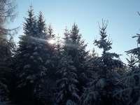 zimní romantika - Kájov - Kladné
