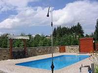 Bazén - chata k pronájmu Zběšice