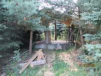 Budoucí altánek - chata k pronajmutí Zběšice