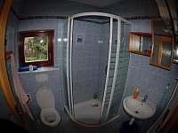 Koupelna - pronájem chaty Zběšice
