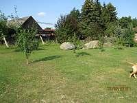 Relaxační prostor - pronájem chaty Zběšice