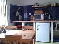 kuchyň přízemí - pronájem chalupy Staňkov (Chlum u Třeboně)