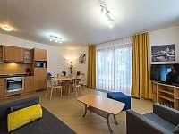 Riviera 5051 kuchyn a ob - apartmán k pronajmutí Lipno nad Vltavou