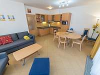 Riviera 5051 obývací pokoj - apartmán k pronajmutí Lipno nad Vltavou