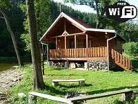 Srub k pronájmu - dovolená Bazén Tábor rekreace Bečice