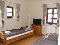 Čtyřlůžkový apartmán v 1.patře - Horní Planá