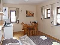 Čtyřlůžkový apartmán v přízemí