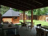 Letní kuchyně - vila k pronájmu Horní Planá