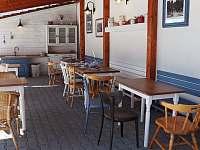 Letní kuchyně - vila ubytování Horní Planá