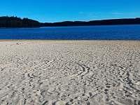 Pláž v Horní Plané -