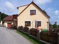 Rodinný dům na horách - dovolená Českokrumlovsko rekreace Zubčice