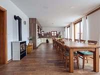 Společenská místnost - jídelna a kuchyně