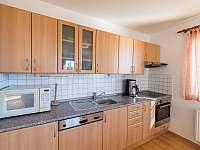 kuchyně vil - vila k pronájmu Lipno nad Vltavou