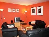 obývací pokoj 205 - pronájem vily Lipno nad Vltavou