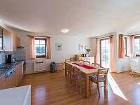 obývací pokoj a kuchyň vila 219 - k pronájmu Lipno nad Vltavou