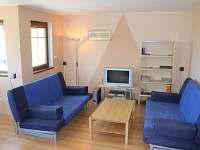 obývací pokoj vila 212 - Lipno nad Vltavou