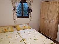 ložnice v patře - 3 lůžka - chata k pronajmutí Planá nad Lužnicí - Soukeník