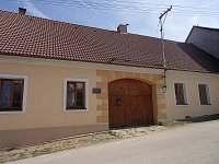 Apartmán ubytování v obci Horní Nakvasovice