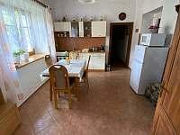 kuchyně - apartmán ubytování Heřmaň