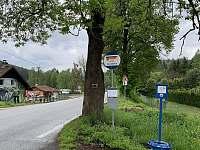 autobusová zastávka - Nahořany